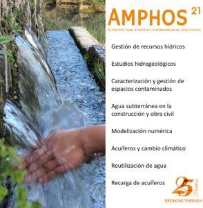 Amphos 21 estaremos en la Feria Iwater en Barcelona del 13 al 15 de noviembre
