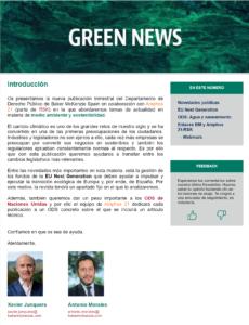 Lee más sobre el artículo Green News